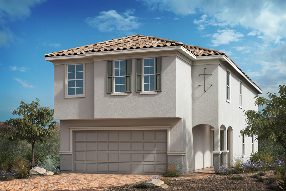 New Homes in Las Vegas, NV - Camden Courts Plan 2469 Elevation E