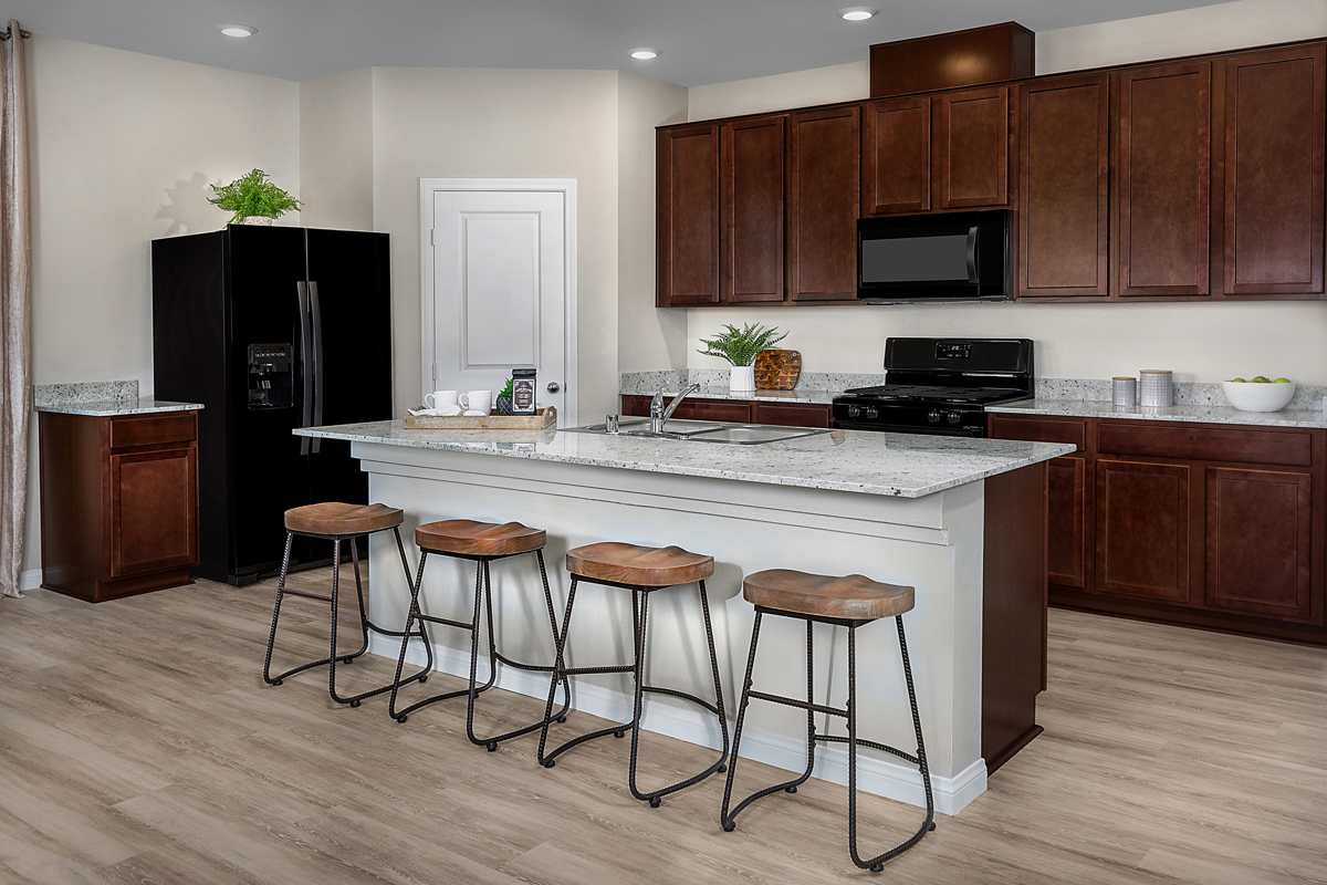 New Homes in Las Vegas, NV - Cattara Plan 2469 Kitchen
