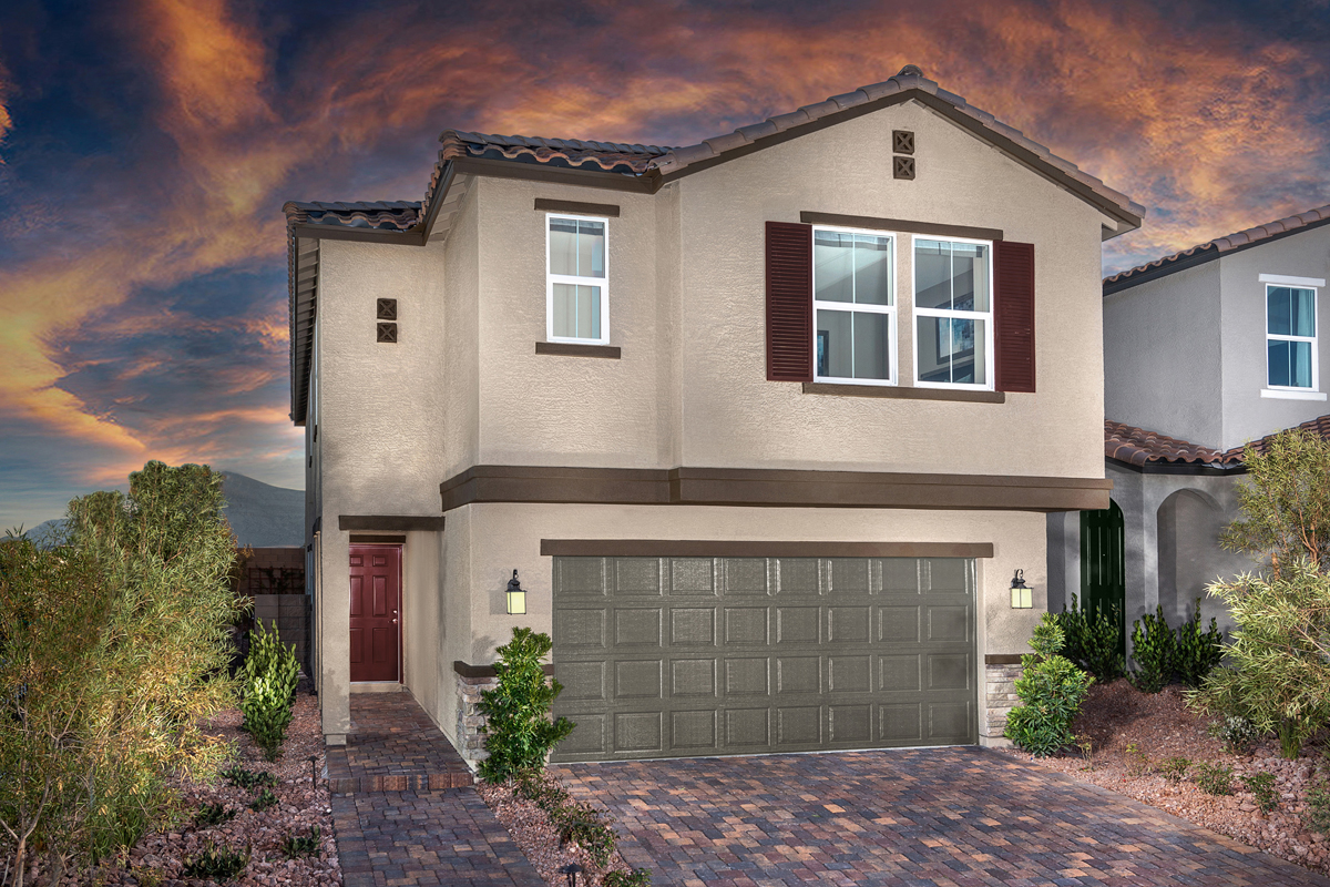 New Homes in Las Vegas, NV - Cumberland Ranch Plan 2469