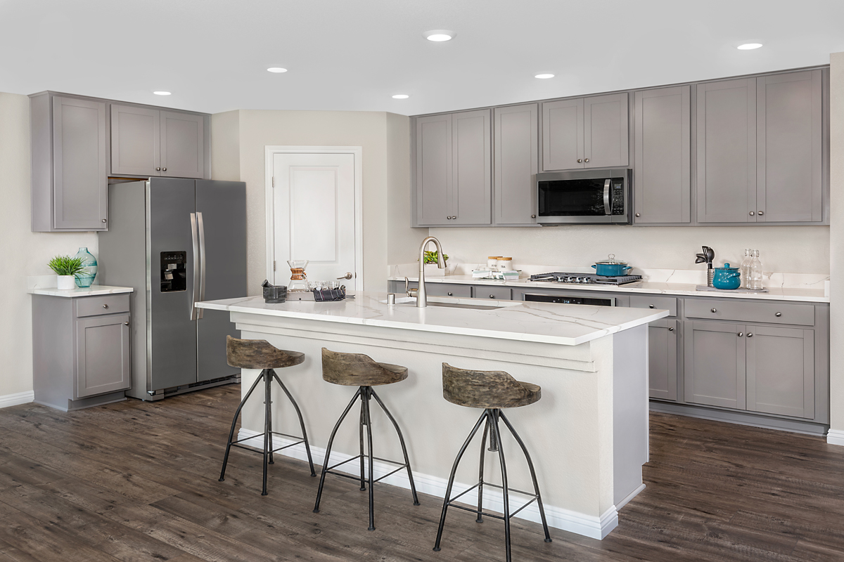 New Homes in Las Vegas, NV - Cumberland Ranch Plan 2469 Kitchen