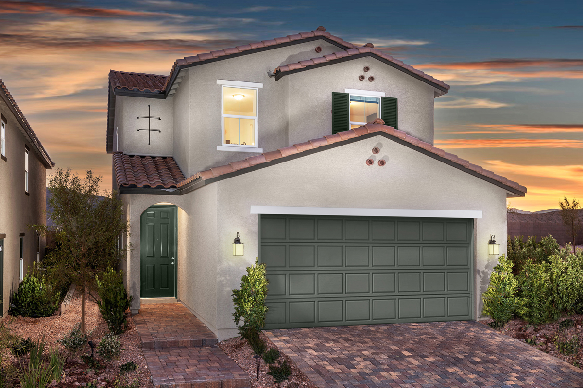 New Homes in Las Vegas, NV - Cumberland Ranch Plan 2115