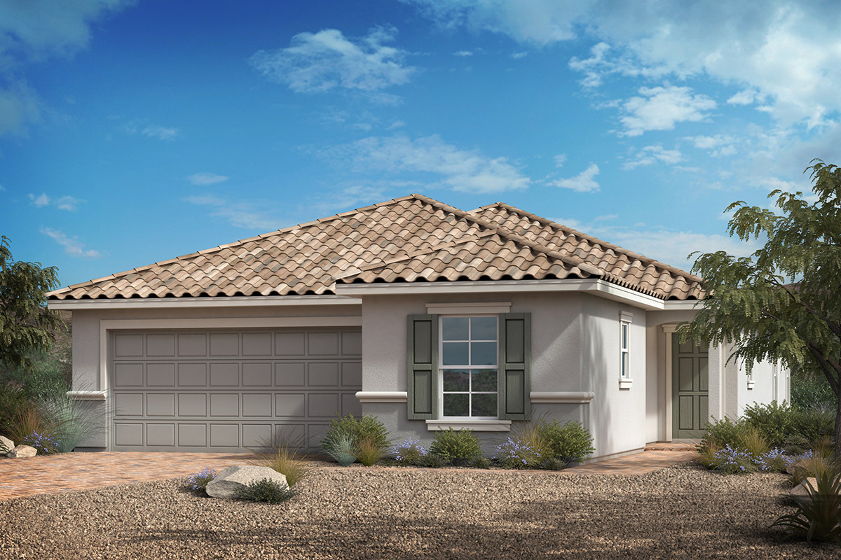 New Homes in Las Vegas, NV - Plan 1849-X Modeled