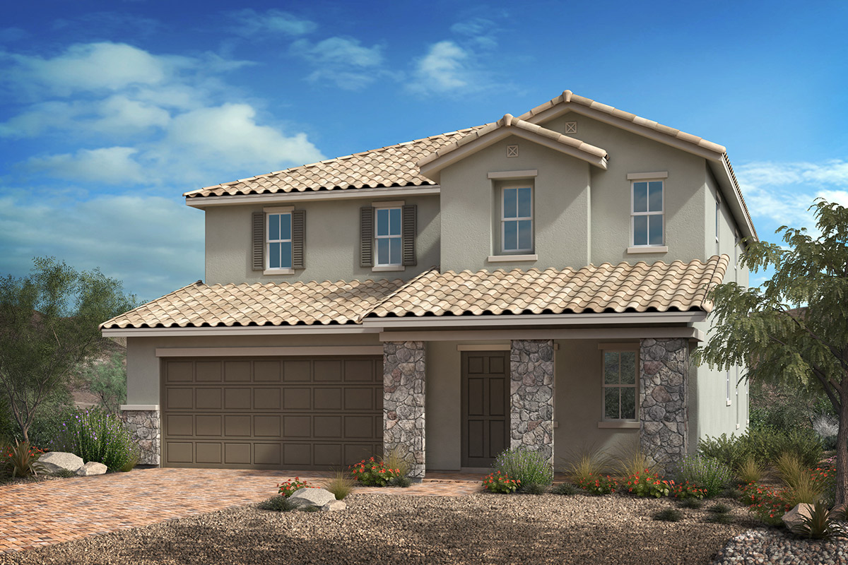 New Homes in Las Vegas, NV - Reserves at Durham Ranch Plan 2993