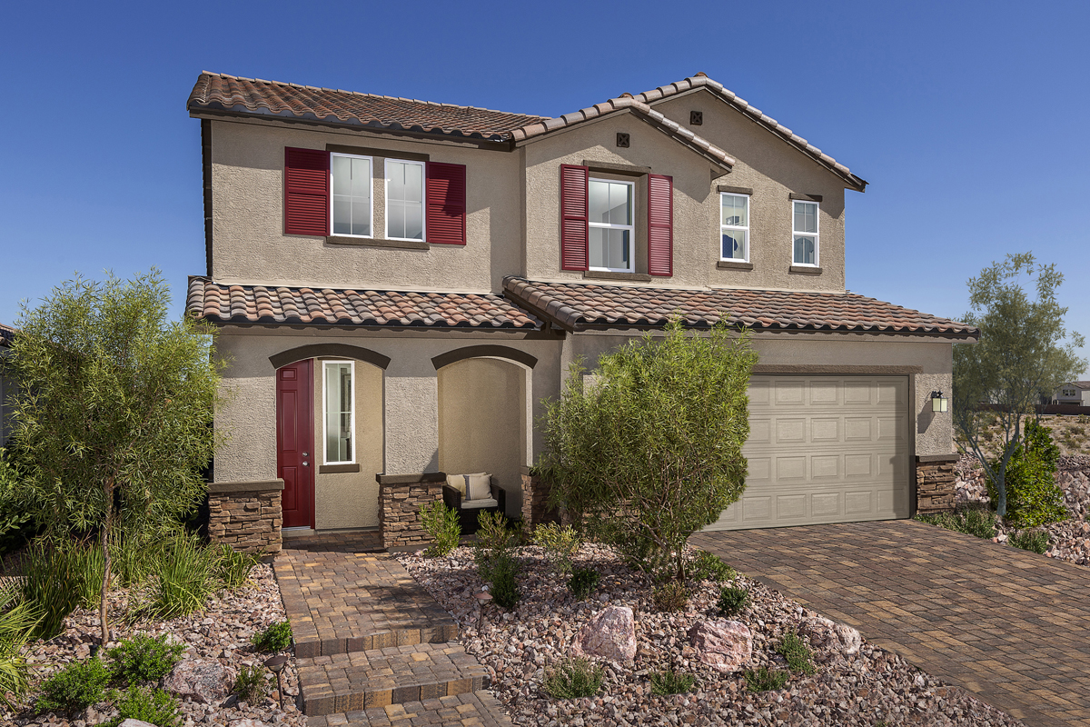 New Homes in Las Vegas, NV - Reserves at Durham Ranch Plan 3066