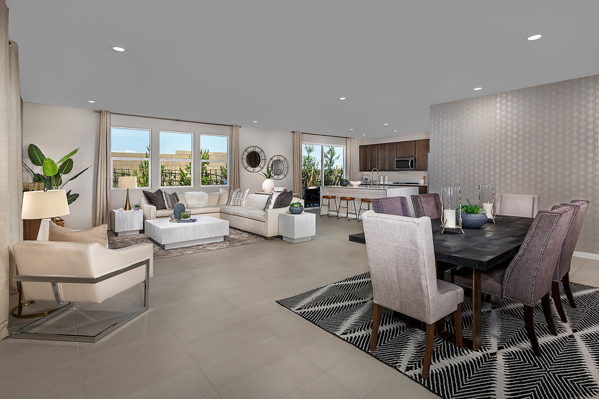 New Homes in Las Vegas, NV - Reserves at Durham Ranch Plan 3066 Great Room