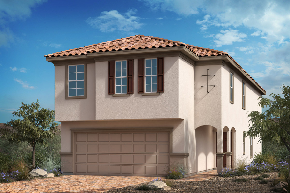 New Homes in Las Vegas, NV - Landings at Durham Ranch Plan 2469 Elevation E