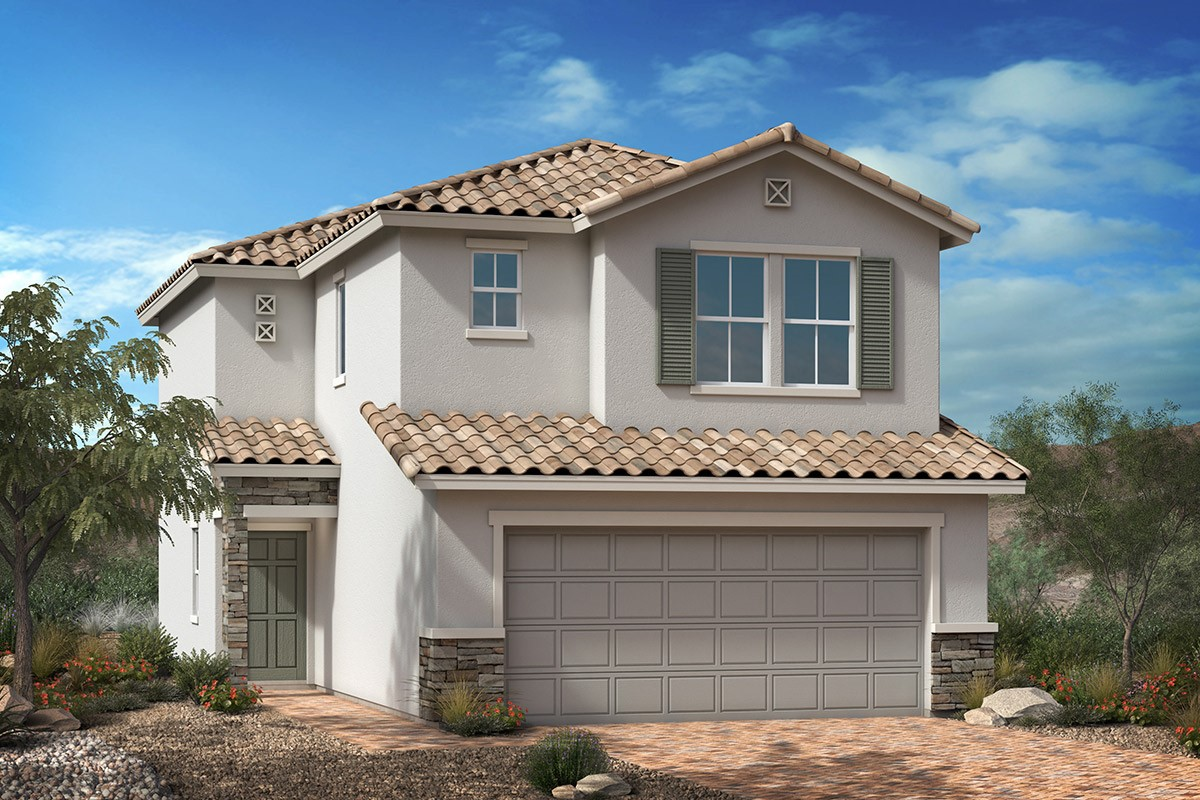 New Homes in Enterprise, NV - Elevation B w/ Optional Stone