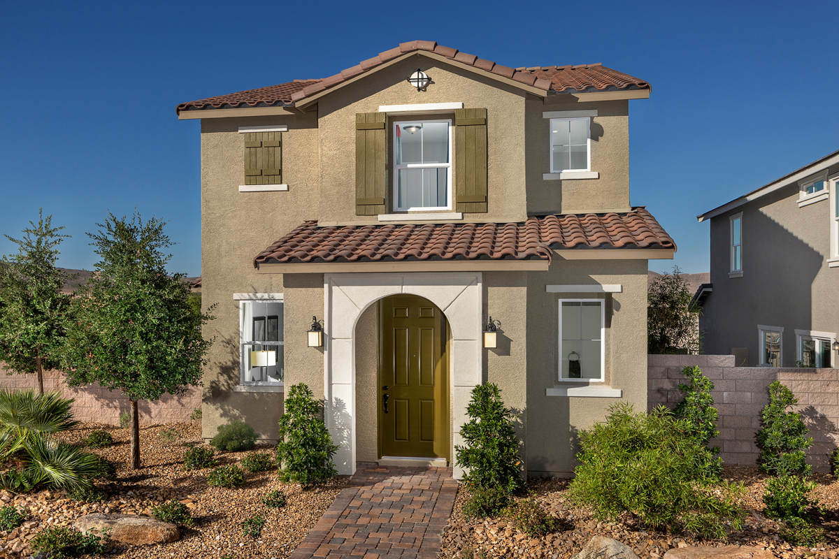 New Homes in Henderson, NV - Plan 1558 Modeled