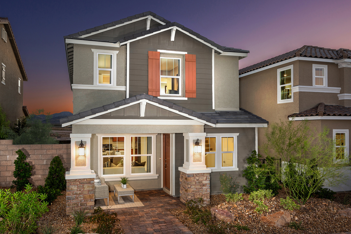 New Homes in Henderson, NV - Gardens at Inspirada Plan 1674