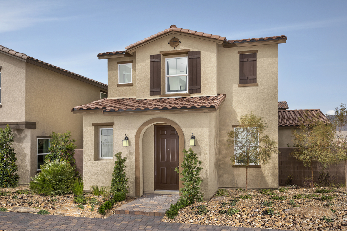 New Homes in North Las Vegas, NV - Gardens at Saddlebrook Plan 1558