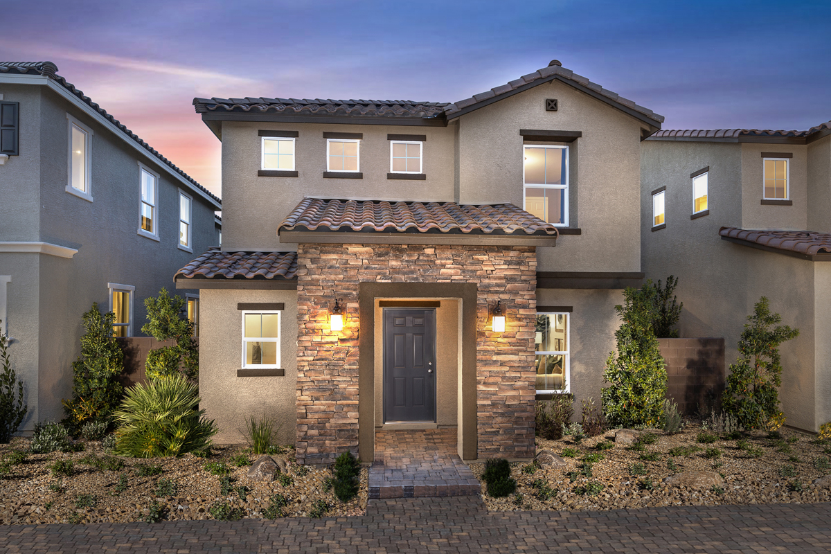 New Homes in North Las Vegas, NV - Plan 1812 Elevation B