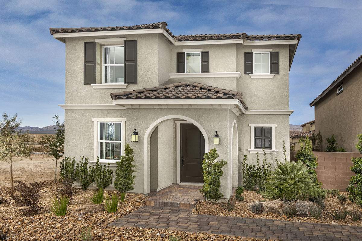 New Homes in North Las Vegas, NV - Gardens at Saddlebrook Plan 2041