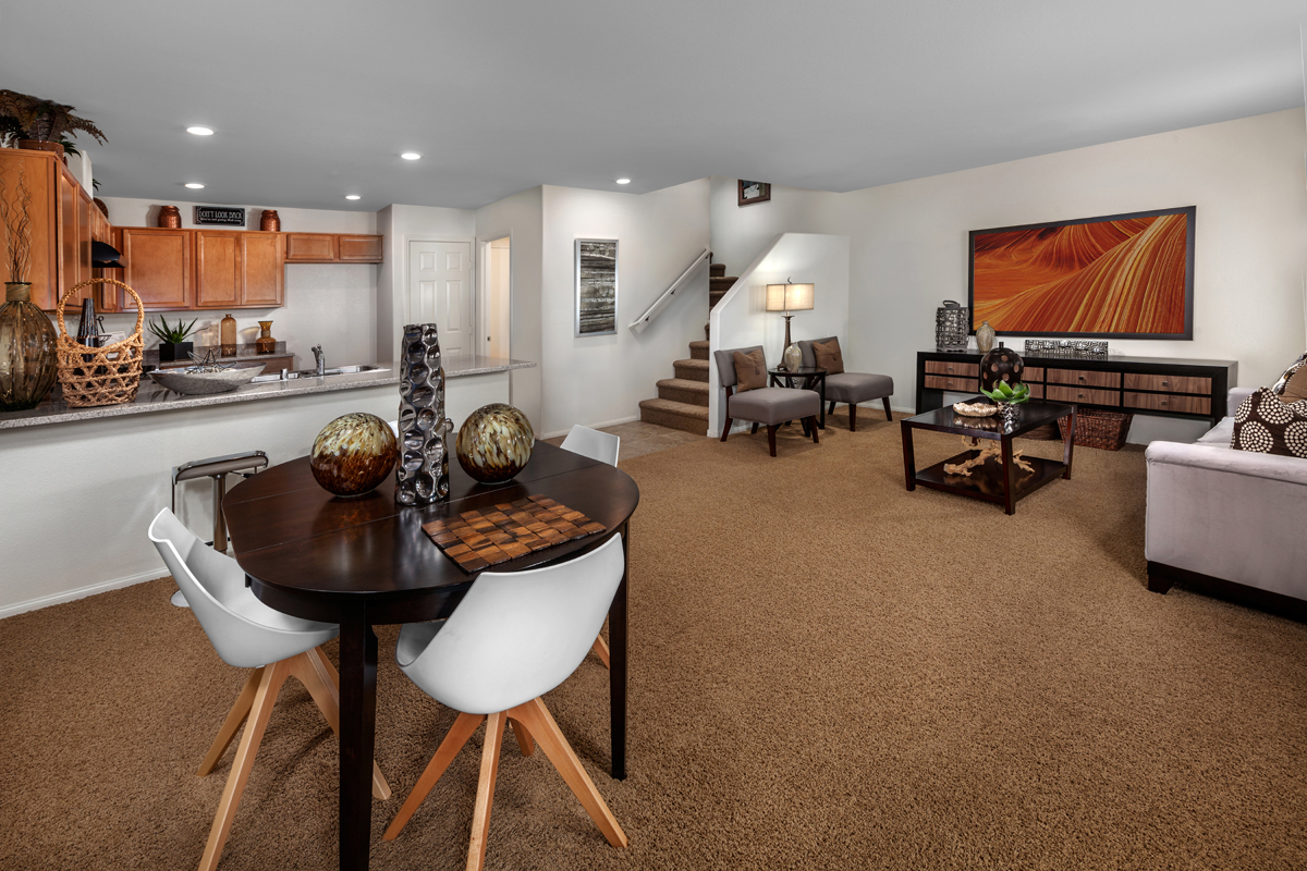 New Homes in Henderson, NV - Groves at Inspirada Plan 1453 Great Room