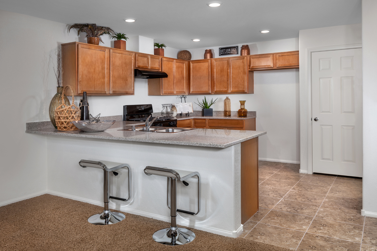 New Homes in Henderson, NV - Groves at Inspirada Plan 1453 Kitchen