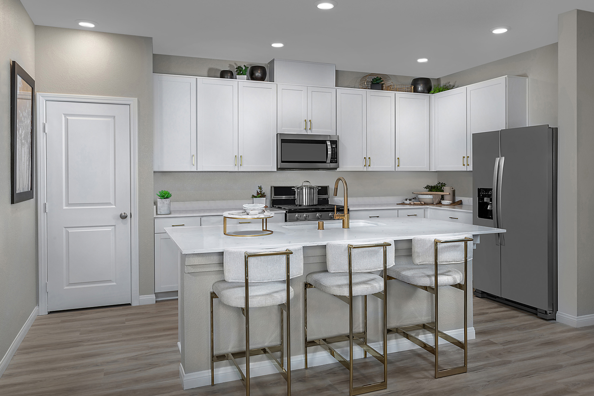 New Homes in Henderson, NV - Groves at Inspirada Plan 1598 Kitchen