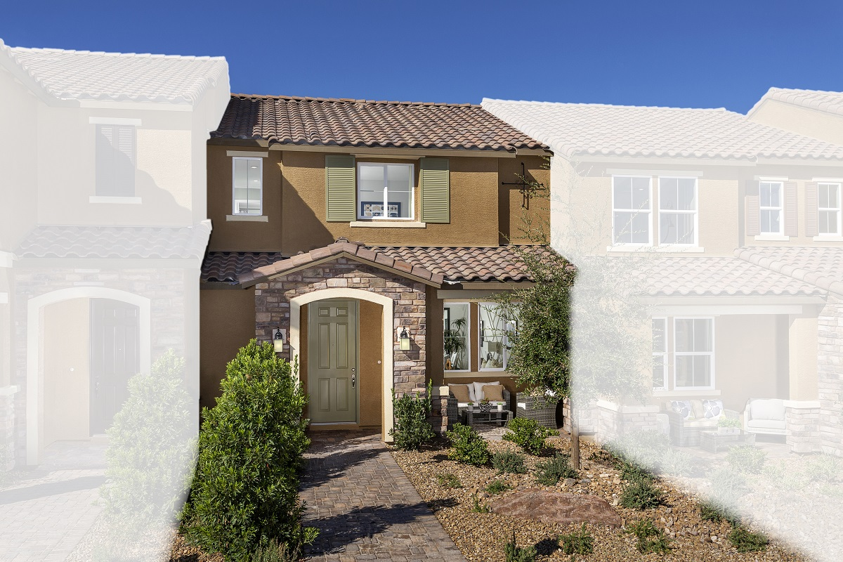 New Homes in Henderson, NV - Plan 1366 Modeled