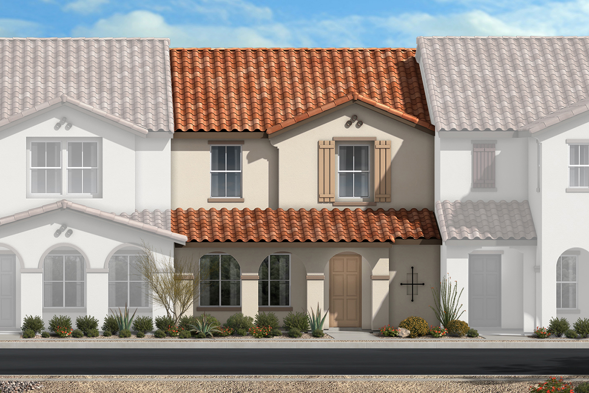 New Homes in North Las Vegas, NV - Plan 1453 Elevation A