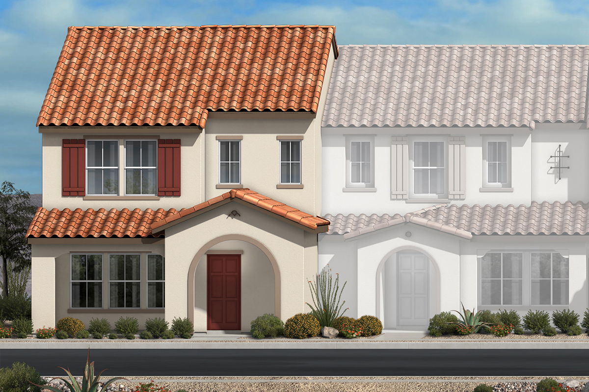 New Homes in North Las Vegas, NV - Plan 1736 Elevation A