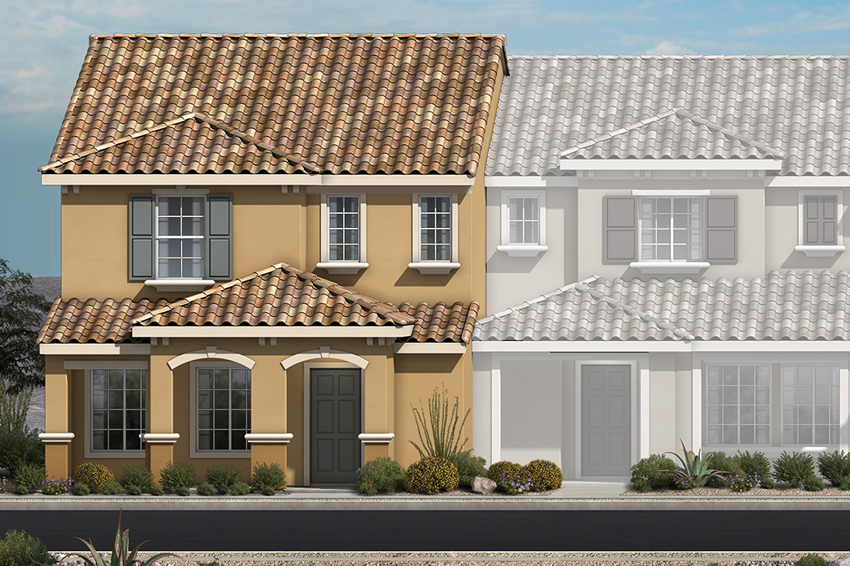 New Homes in North Las Vegas, NV - Plan 1736 Elevation E