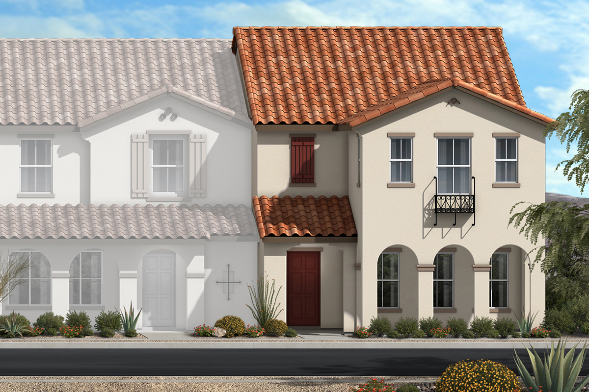New Homes in North Las Vegas, NV - Plan 1860 Elevation A