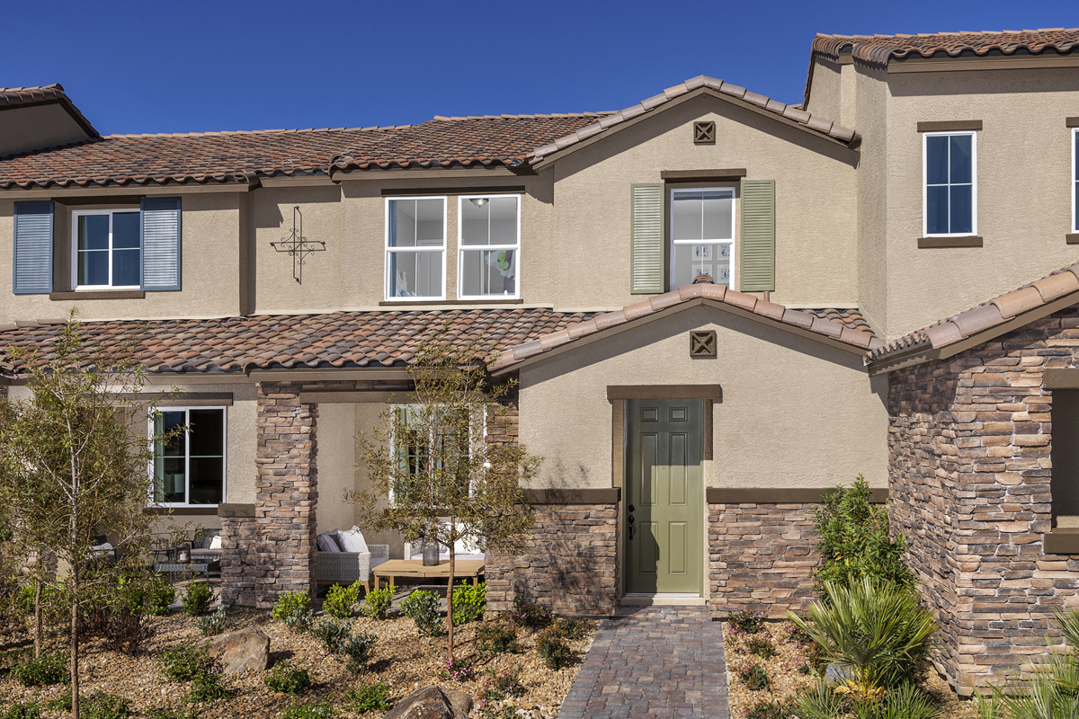 New Homes in North Las Vegas, NV - Plan 1453 Elevation B