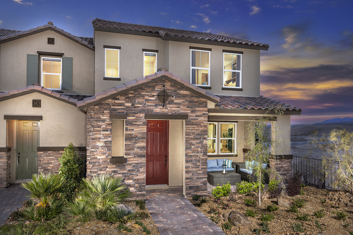 New Homes in North Las Vegas, NV - Plan 1736 Elevation B