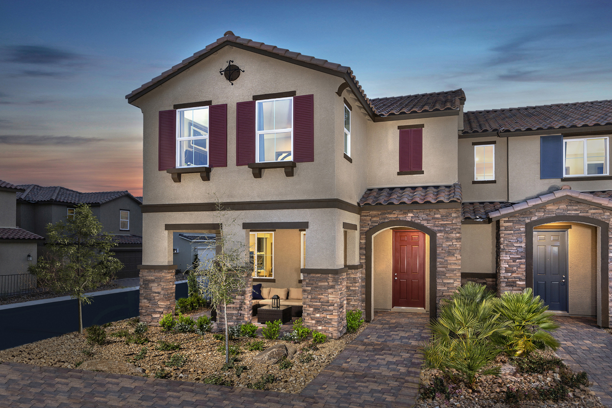 New Homes in North Las Vegas, NV - Groves at Saddlebrook Plan 1860