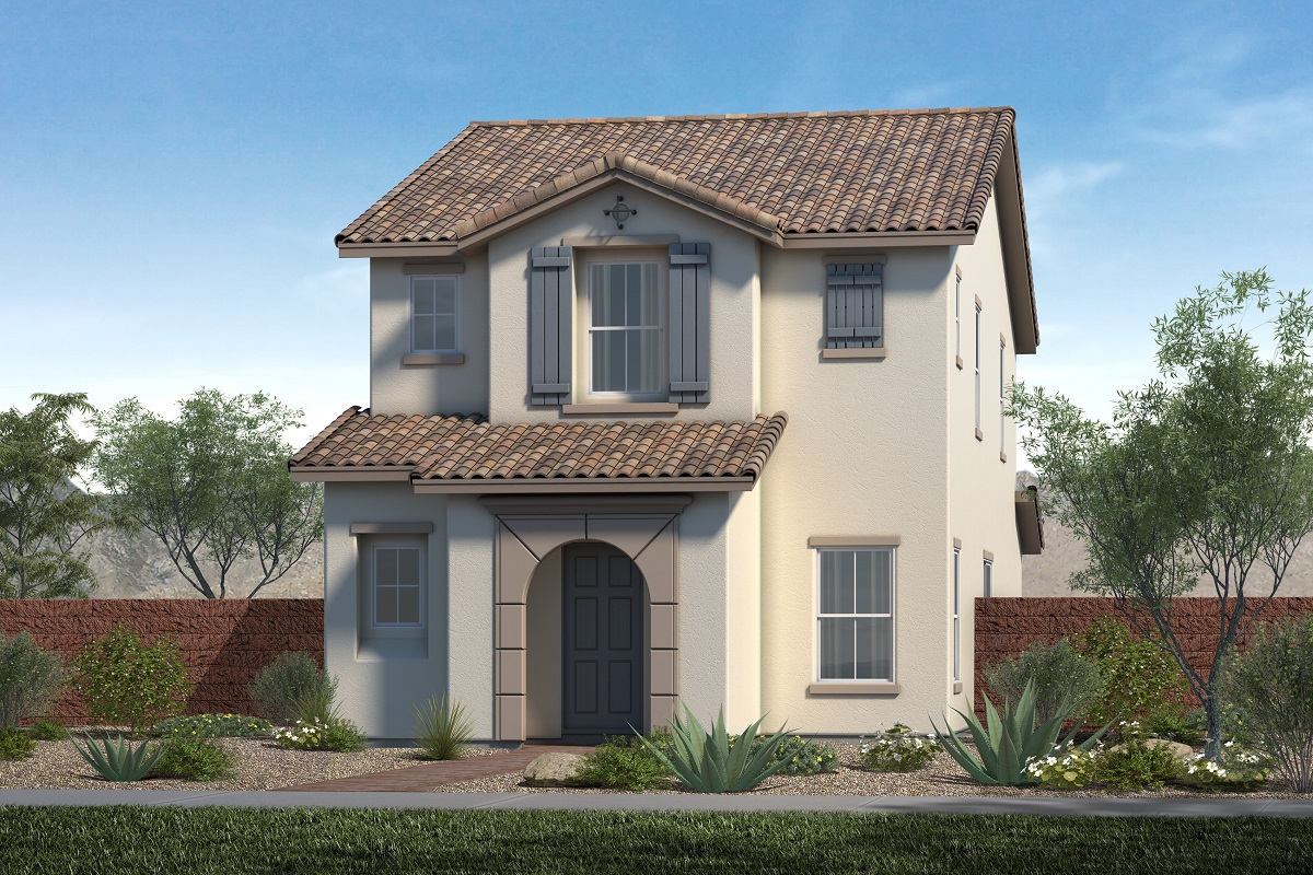New KB quick-move-in homes available at Gardens at Inspirada in Henderson, NV.  is one of many quick-move-in homes to choose from.