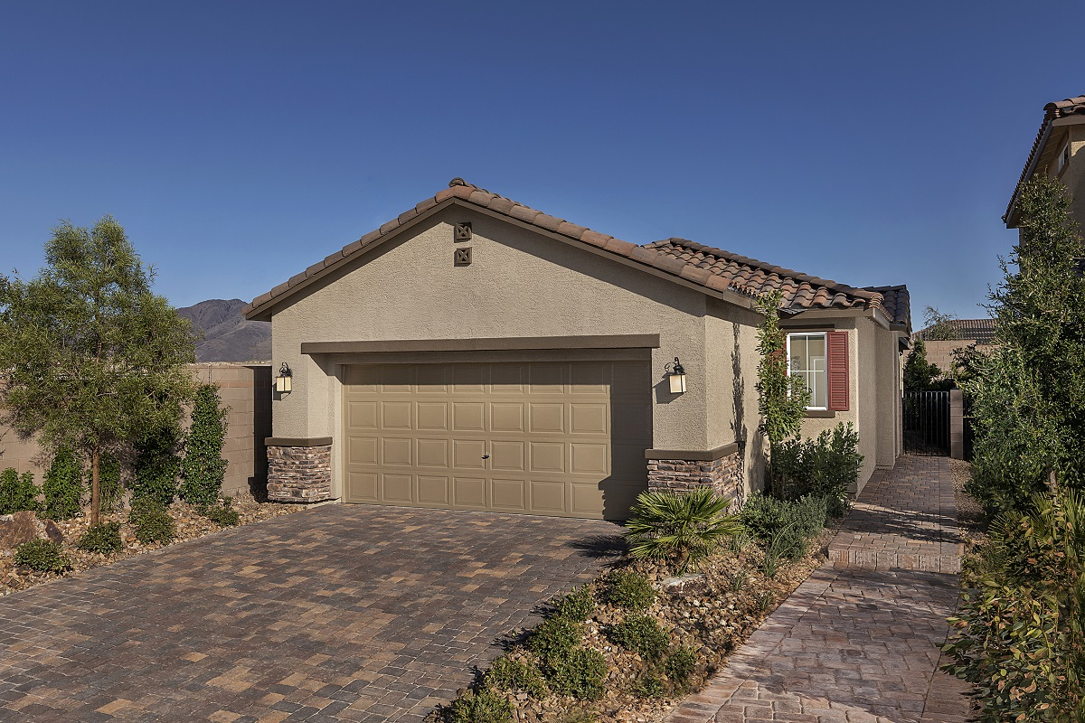 New Homes in Henderson, NV - Plan 1150 Modeled