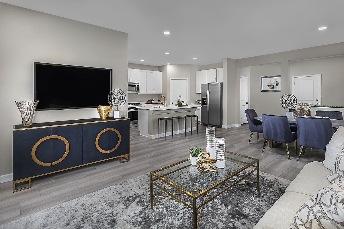 New Homes in Henderson, NV - Landings at Inspirada Plan 2089 Great Room