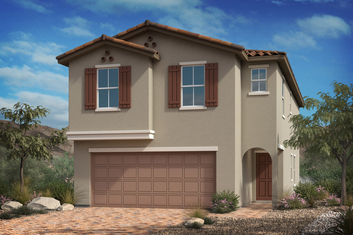 New KB quick-move-in homes available at Landings at Montecito in Las Vegas, NV.  is one of many quick-move-in homes to choose from.
