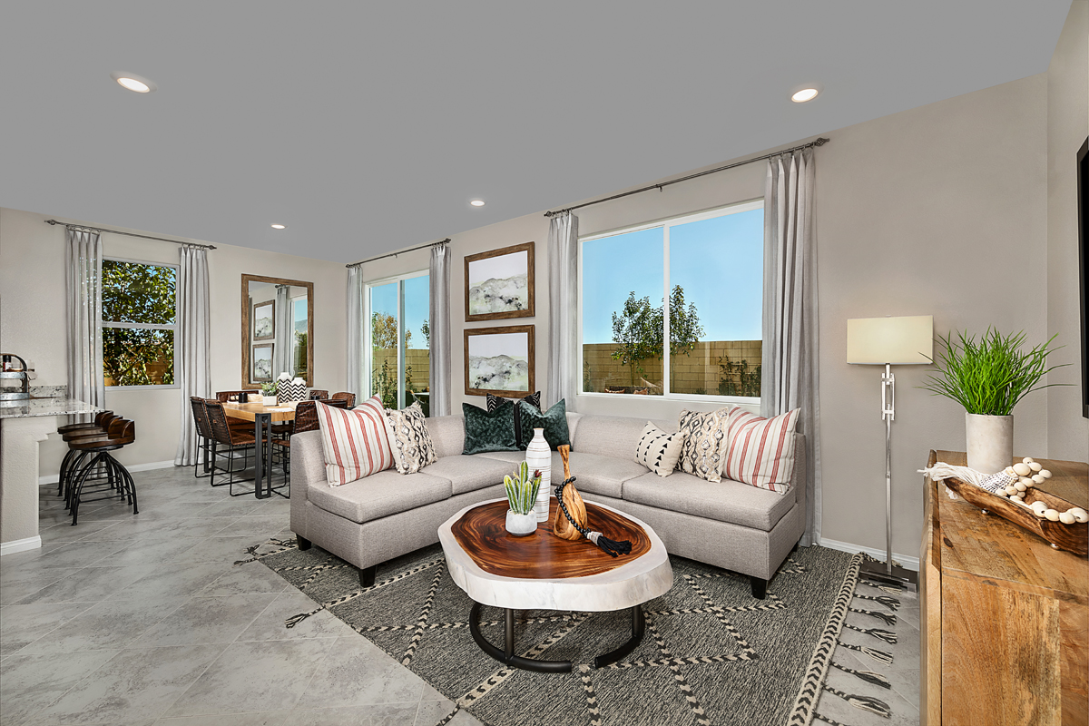 New Homes in Las Vegas, NV - Landings at Montecito Plan 1455 Great Room