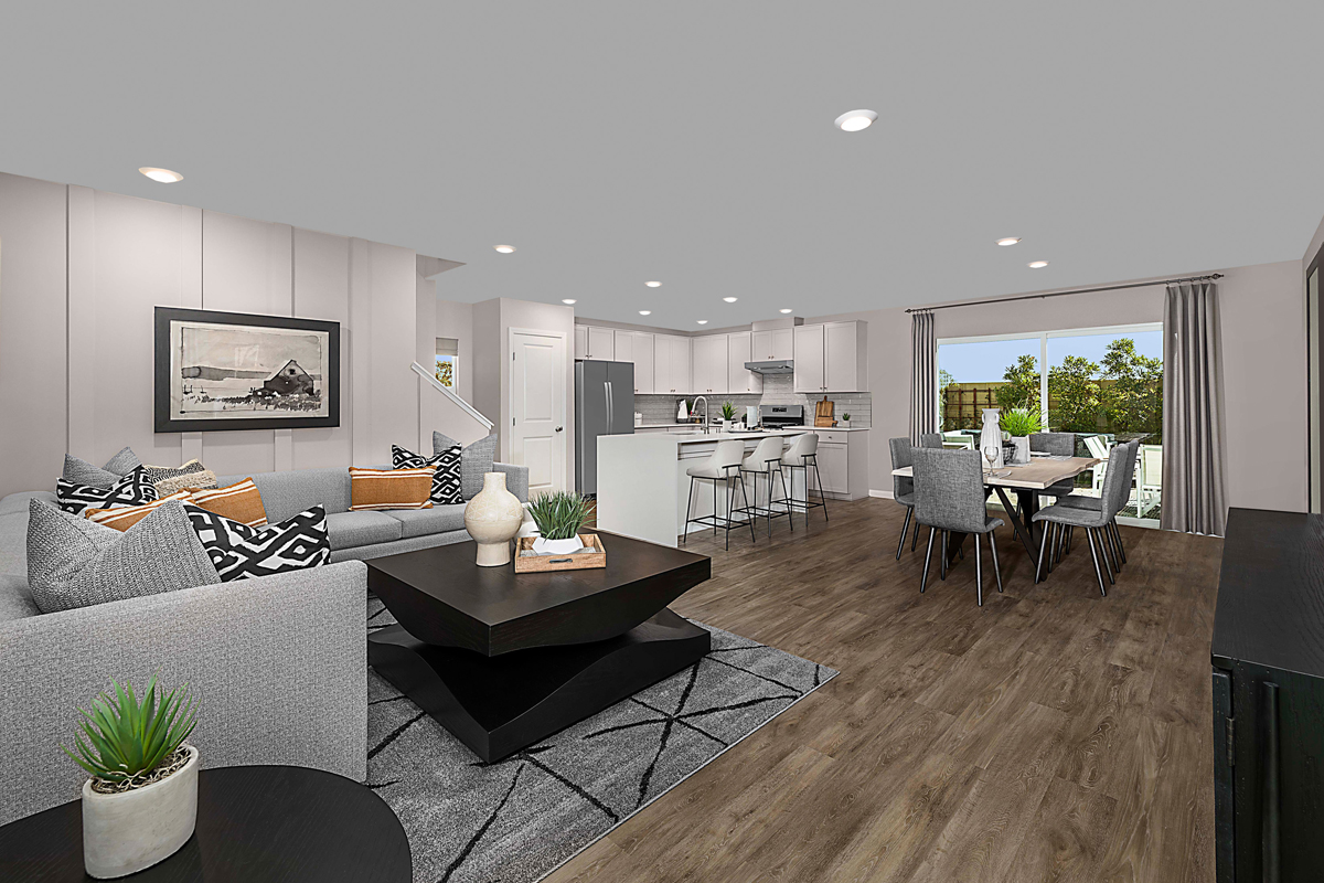 New Homes in Las Vegas, NV - Landings at Montecito Plan 2114 Great Room