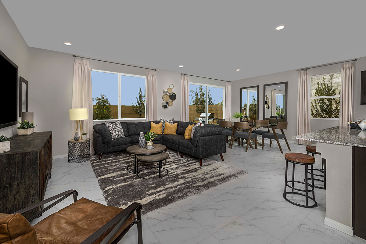 New Homes in Las Vegas, NV - Landings at Montecito Plan 2469 Great Room
