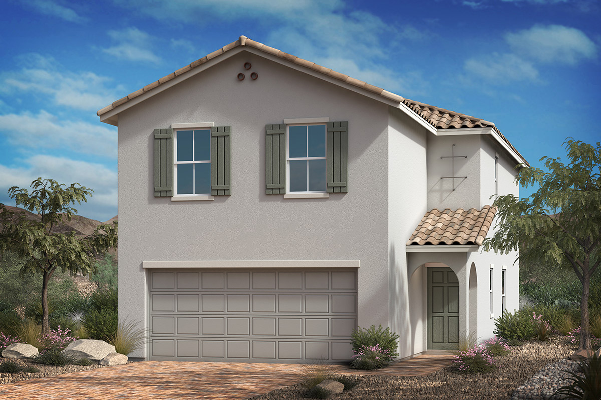New Homes in Las Vegas, NV - Montalado Plan 1768 Elevation A
