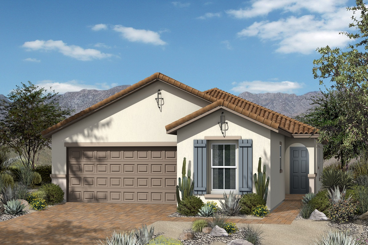 New Homes in Henderson, NV - Reserves at Inspirada Plan 1849 Elevation A