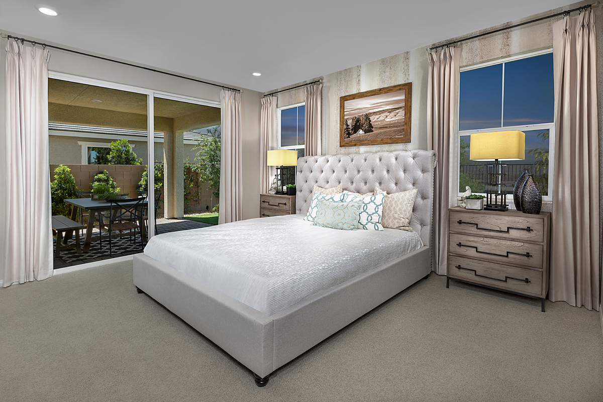 New Homes in Henderson, NV - Reserves at Inspirada Plan 1589 Master Bedroom