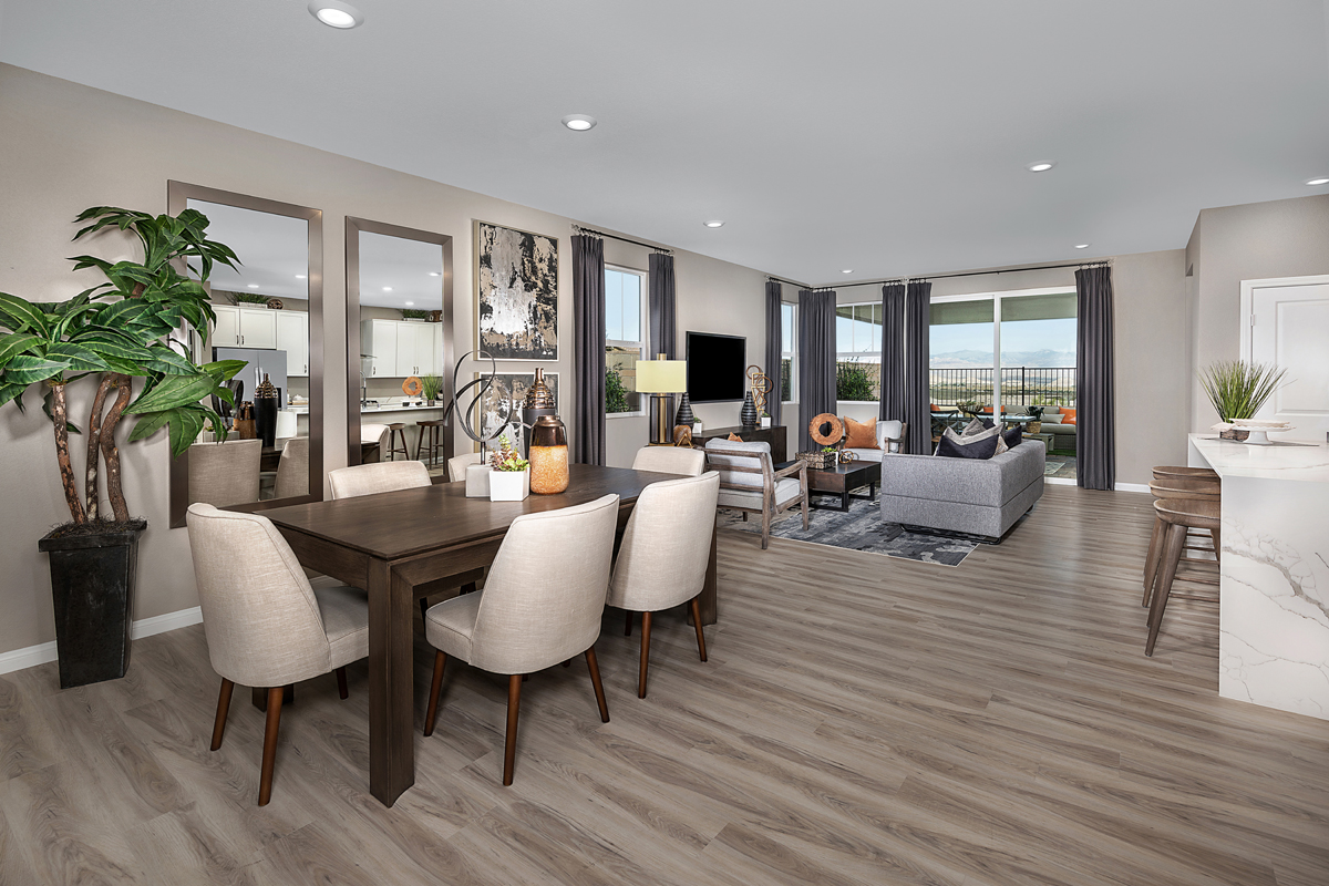 Plan 1849 Modeled New Home Floor Plan In Reserves At Inspirada By Kb Home