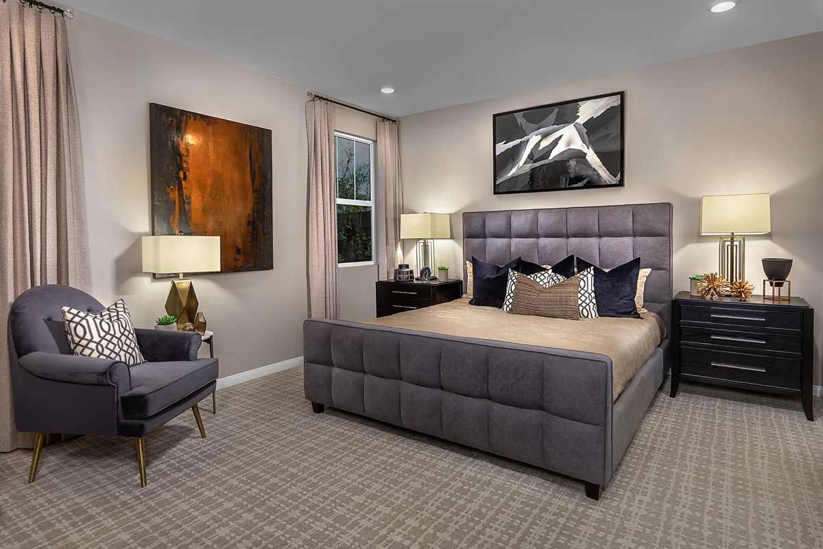 New Homes in Henderson, NV - Reserves at Inspirada Plan 1849 Master Bedroom