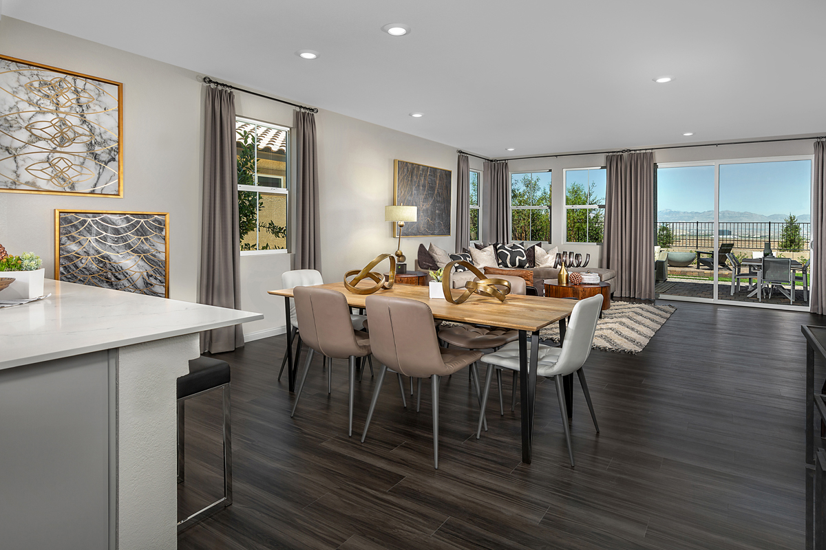 New Homes in Henderson, NV - Reserves at Inspirada Plan 2993 Great Room