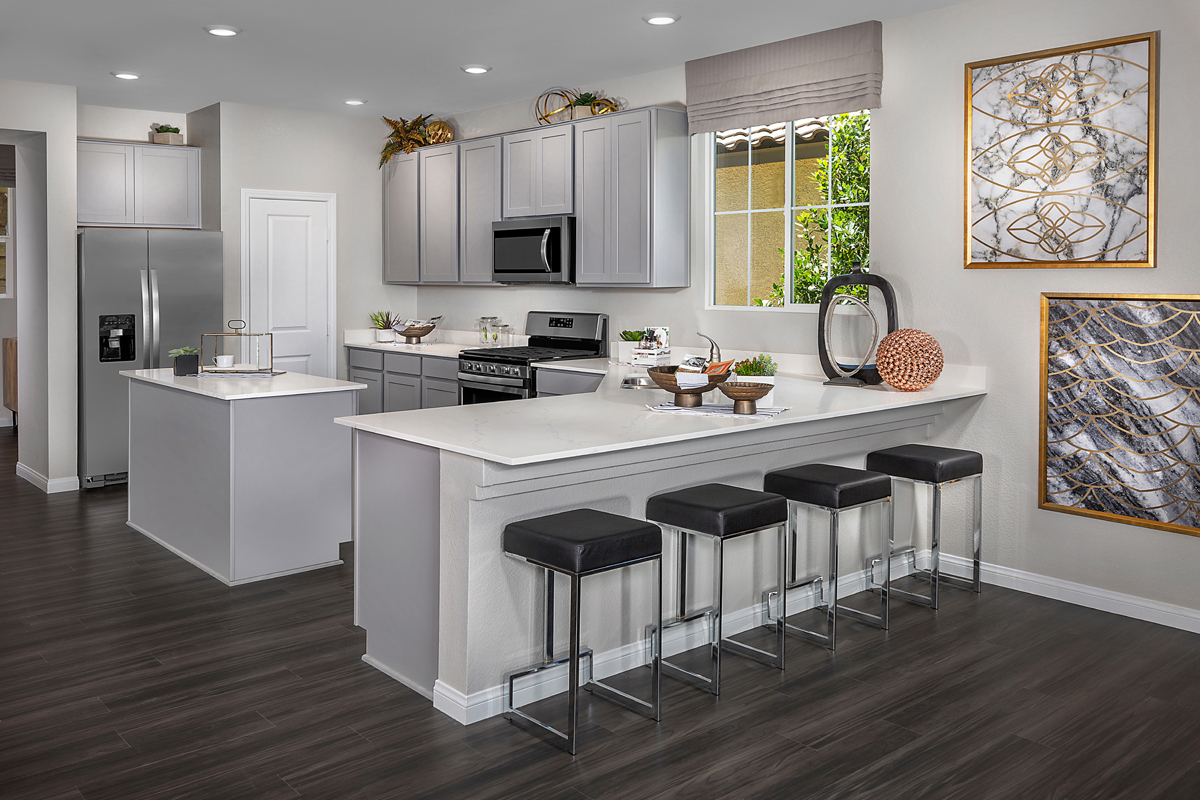 New Homes in Henderson, NV - Reserves at Inspirada Plan 2993 Kitchen