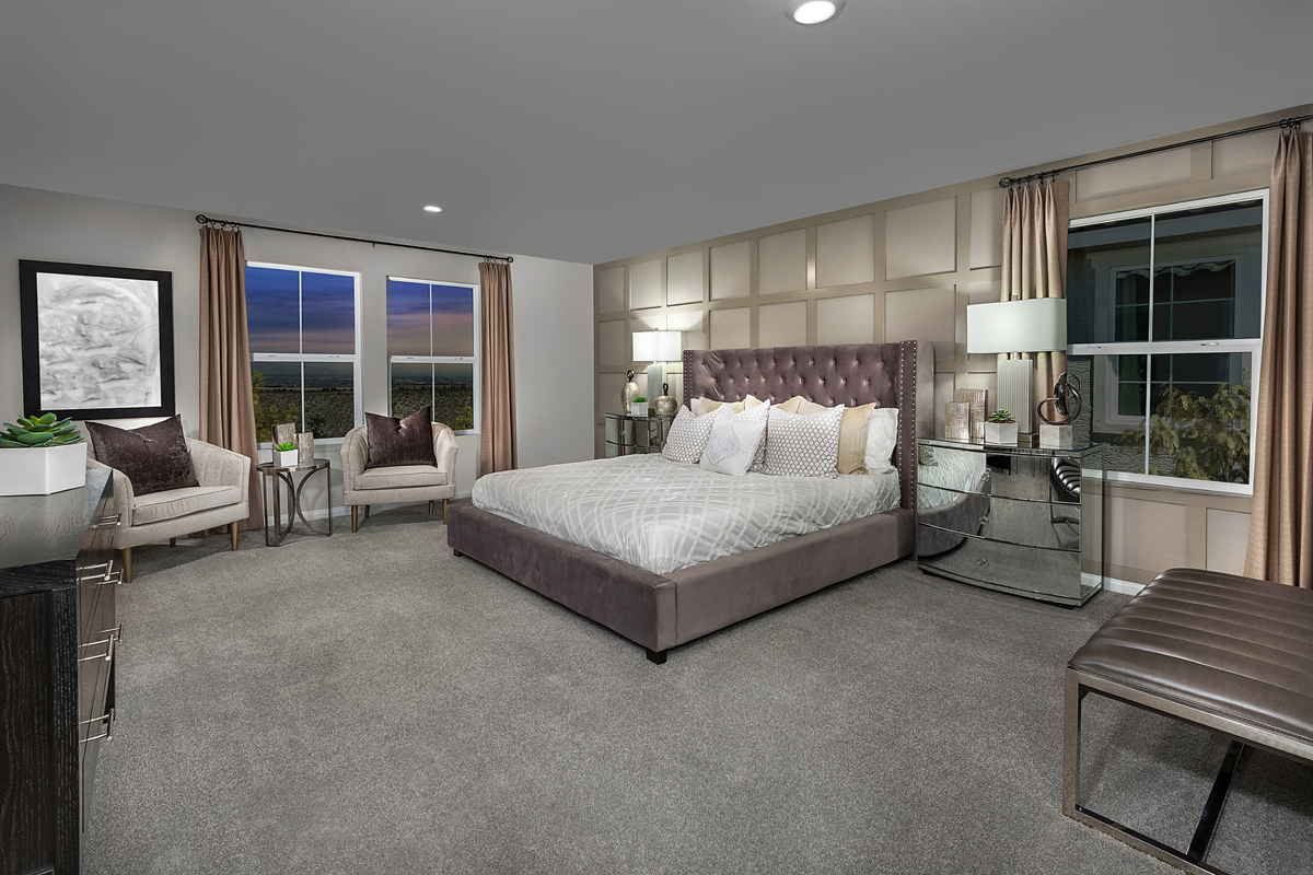 New Homes in Henderson, NV - Reserves at Inspirada Plan 2993 Second Master Bedroom