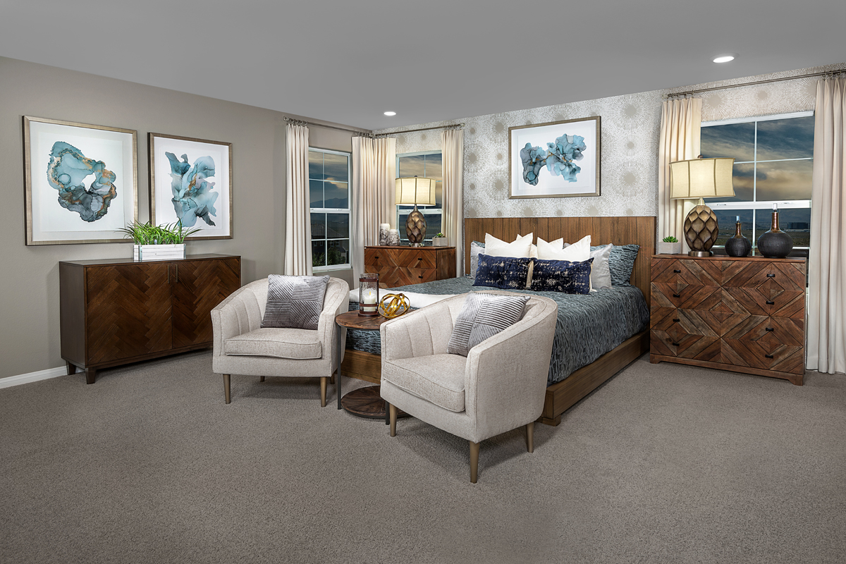 New Homes in Henderson, NV - Reserves at Inspirada Plan 3066 Master Bedroom