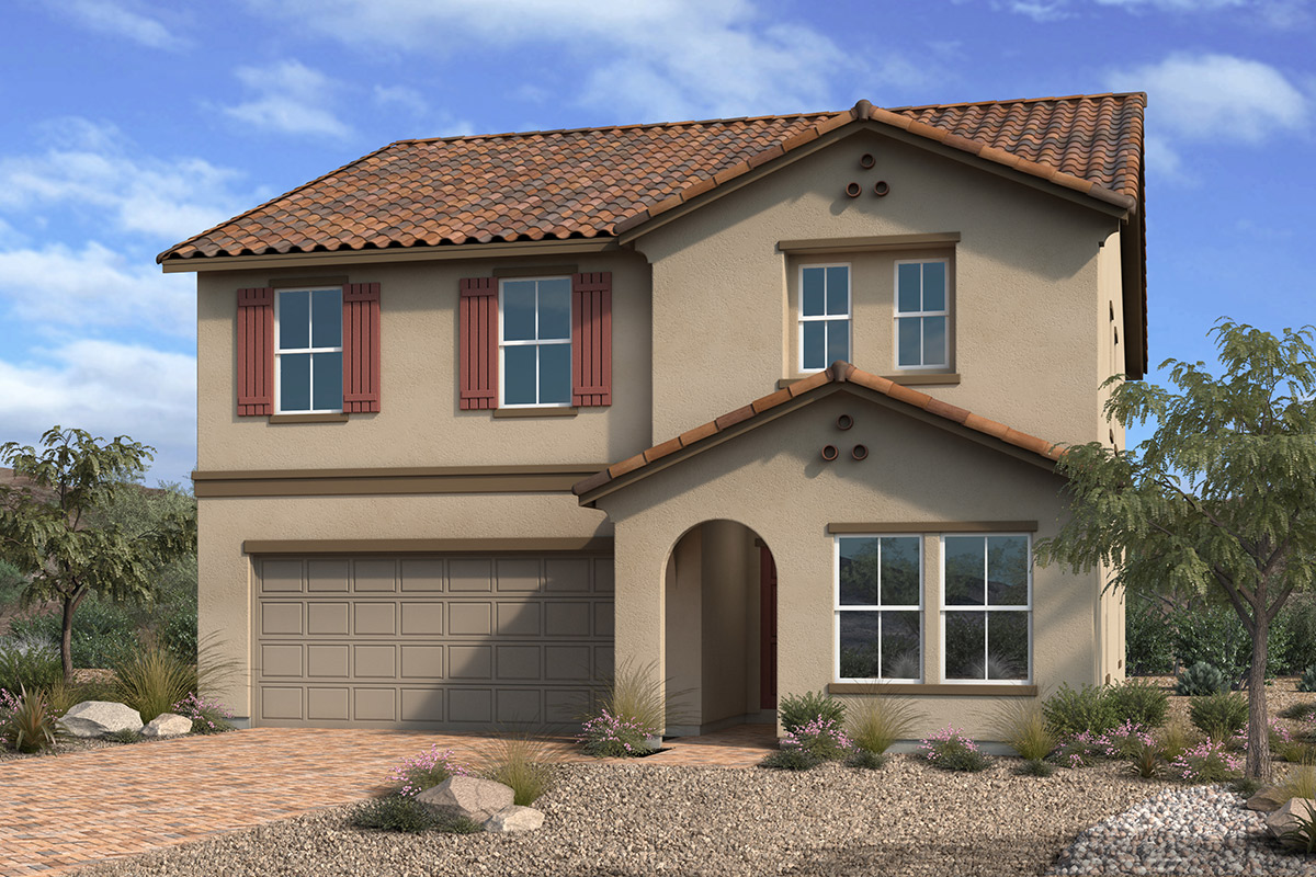 New Homes in Las Vegas, NV - Reserves at Montecito Plan 2679