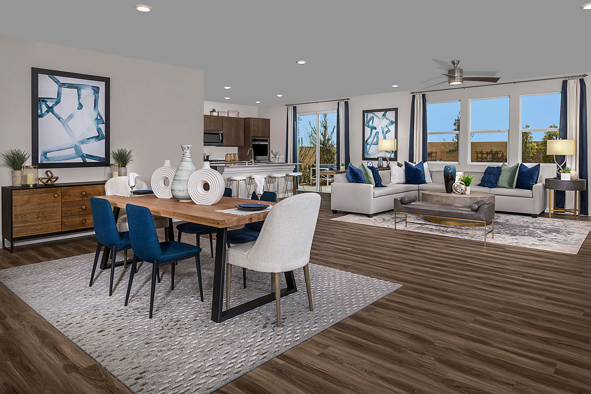 New Homes in Las Vegas, NV - Reserves at Montecito Plan 3066 Great Room