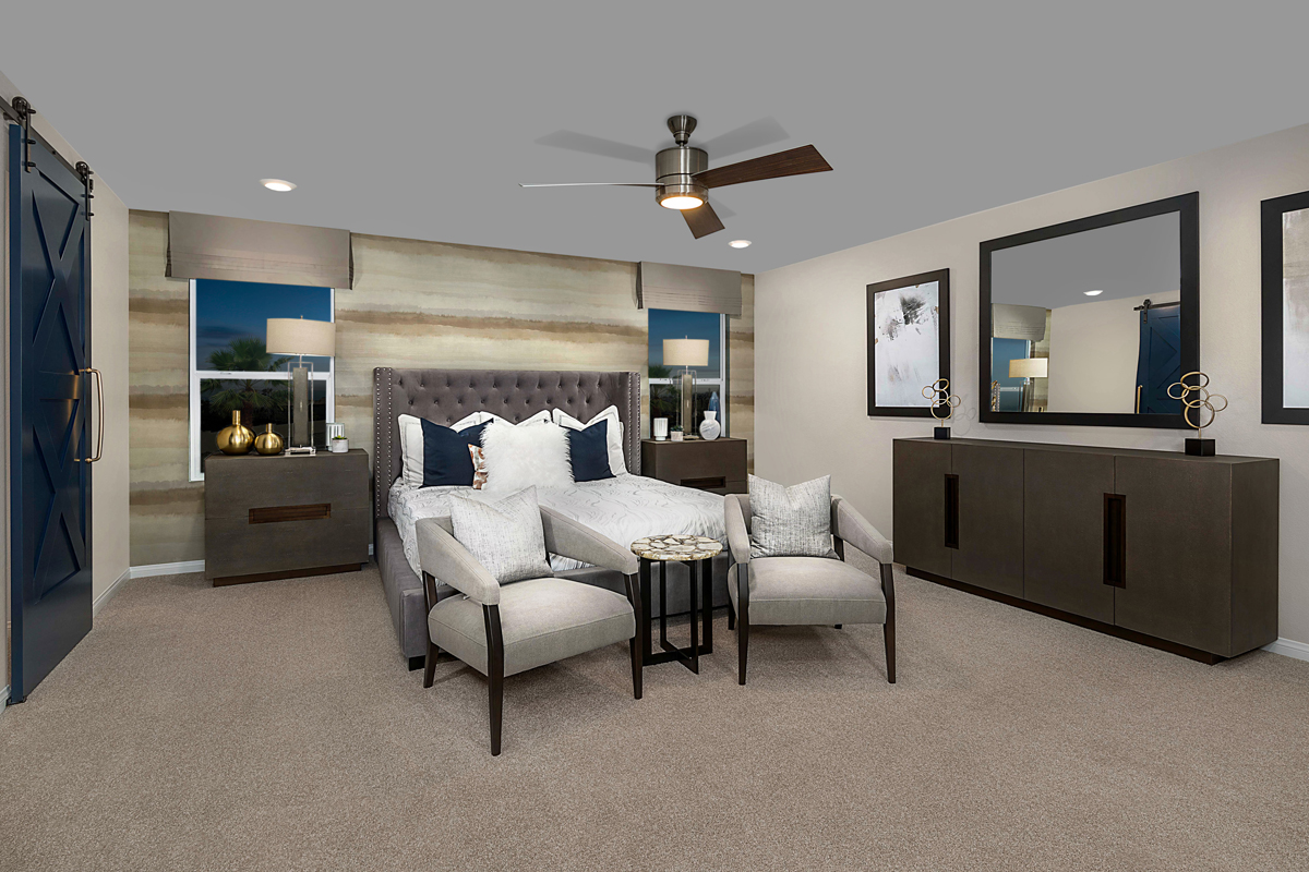 New Homes in Las Vegas, NV - Reserves at Montecito Plan 3066 Master Bedroom