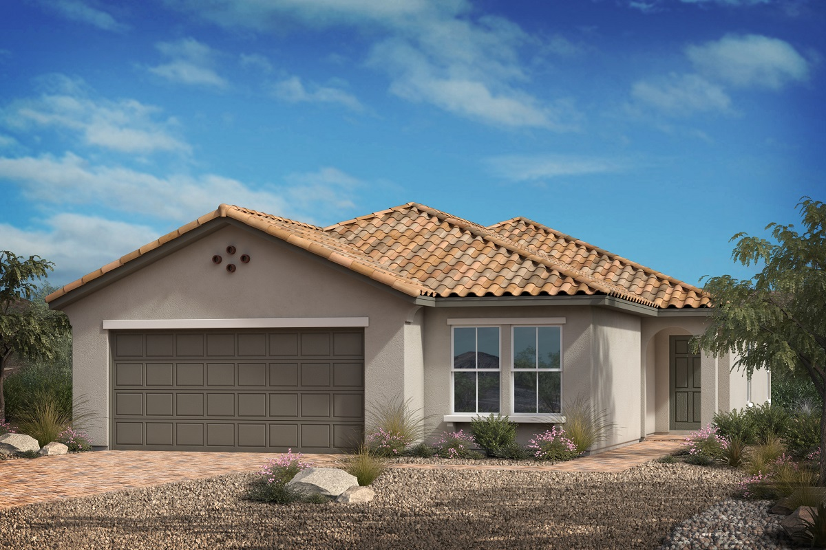 New Homes in Las Vegas, NV - Reserves at Serene Canyon Plan 1700
