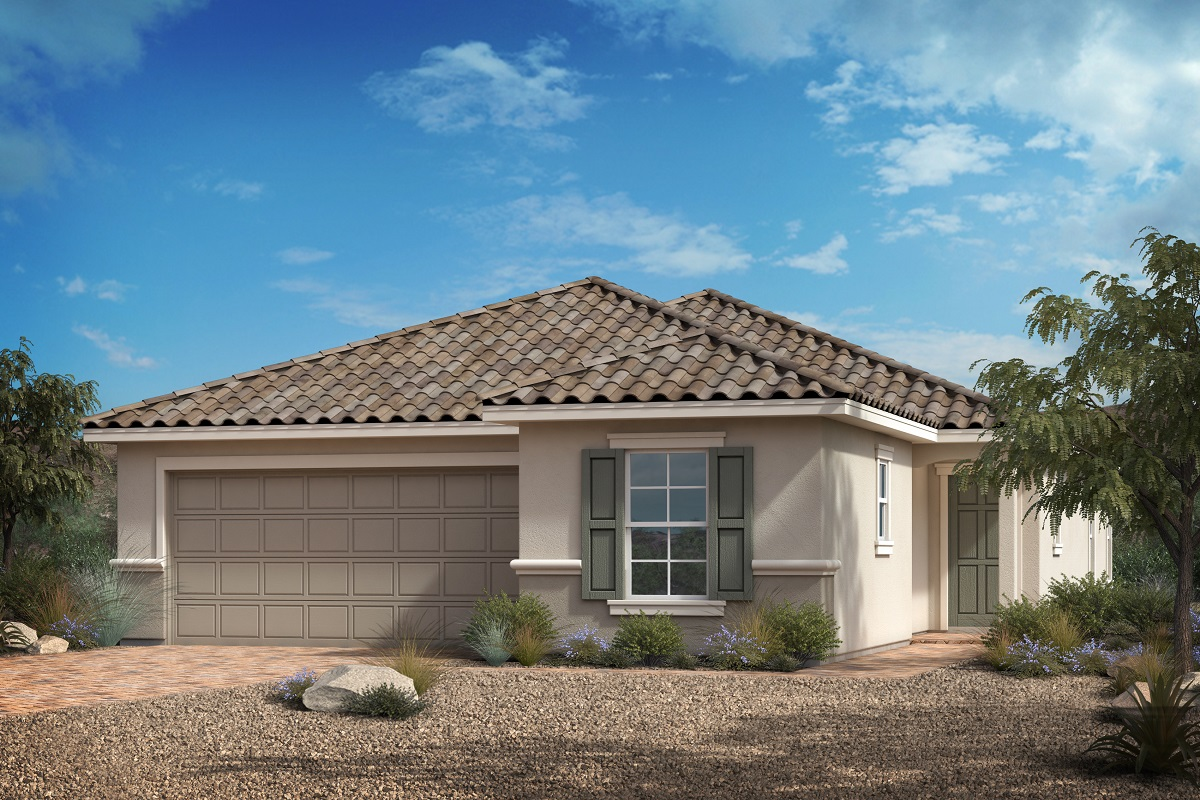 New Homes in Las Vegas, NV - Reserves at Serene Canyon Plan 1849