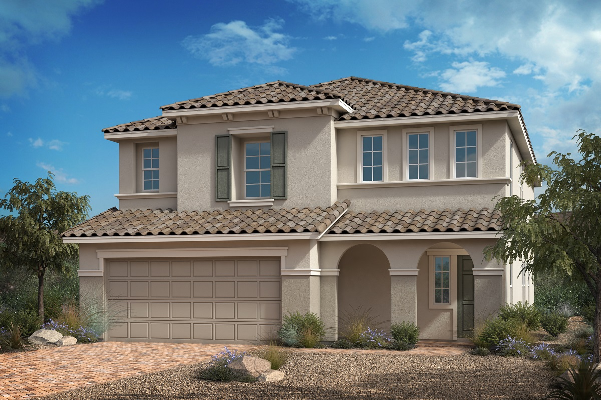 New Homes in Las Vegas, NV - Reserves at Serene Canyon Plan 3059