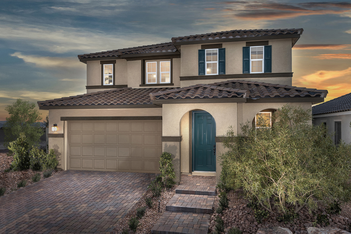 New Homes in Las Vegas, NV - Reserves at Serene Canyon Plan 2993